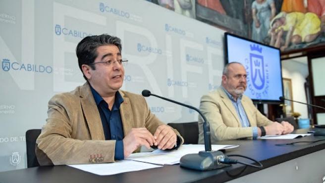 """Martín garantiza la """"buena salud"""" del pacto en el Cabildo de Tenerife tras un primer año """"muy intenso"""" y """"complicado"""""""
