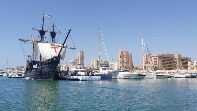 Embarcación Nao Victoria