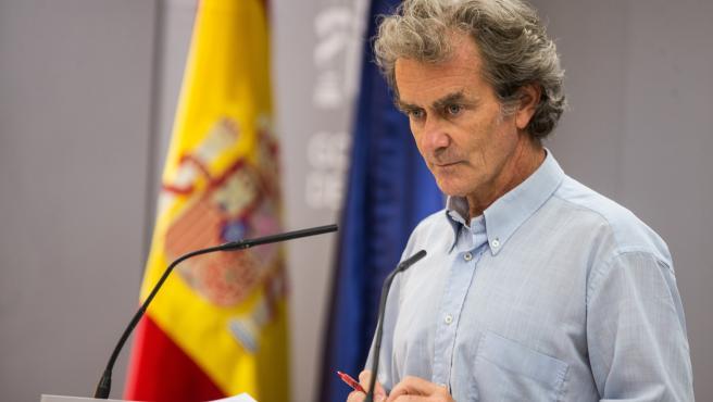 Fernando Simon press conference
