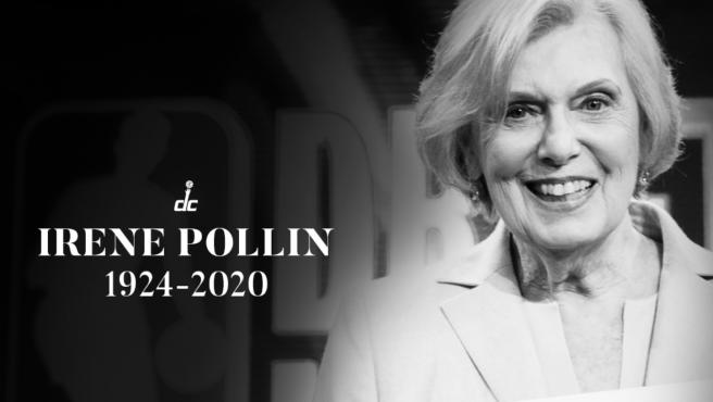 Homenaje de los Washington Wizards a Irene Pollin