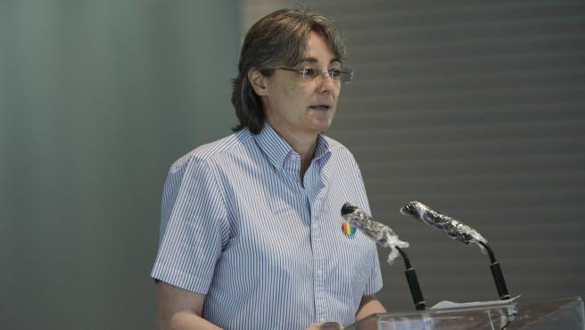 La concejala de Más Madrid Marta Higueras