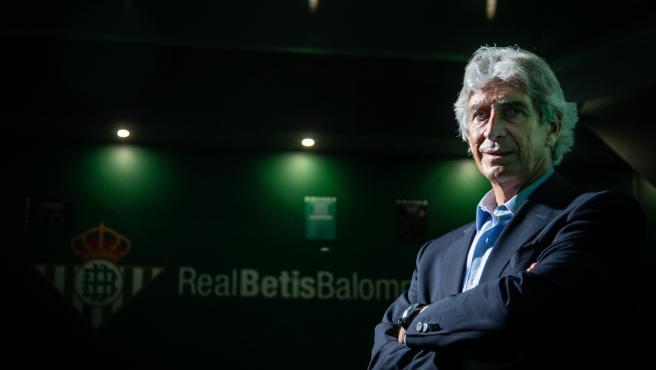 Manuel Pellegrini, tras ser presentado como entrenador del Betis
