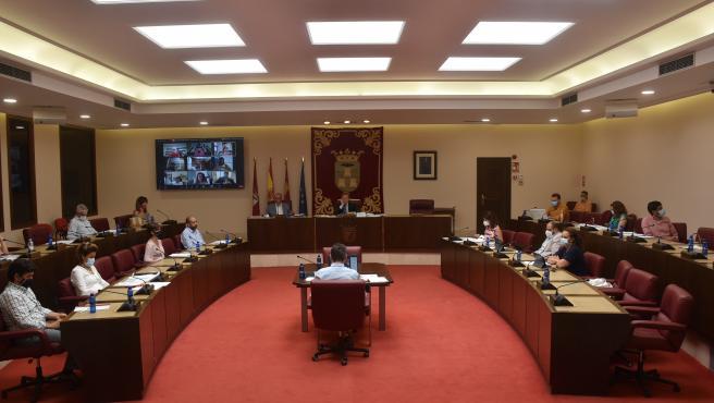 Pleno del Ayuntamiento de Albacete.