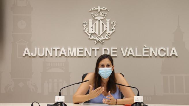 La concejala del Ciclo Integral del Agua, Elisa Valía