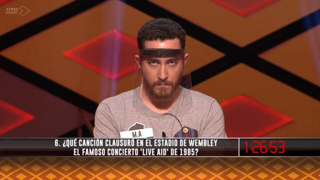 Miguel Ángel, de Los dispersos, en '¡Boom!'.