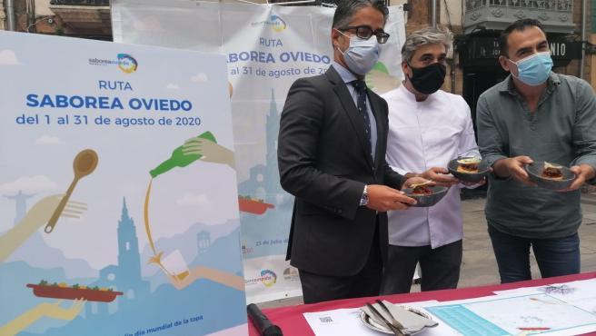 Presentanción de la Ruta Saborea Oviedo.L