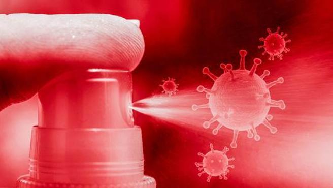 El spray bucal utilizará biomoléculas para atrapar al virus e impedir su propagación.