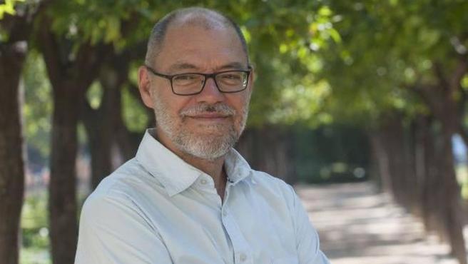 El escritor Pablo Aranda en una imagen de archivo.