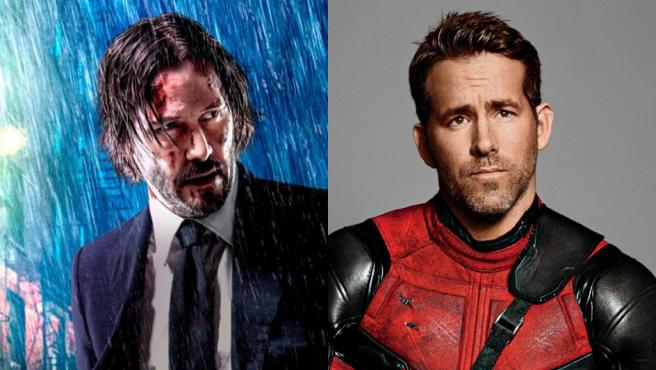 Keanu Reeves y Ryan Reynolds
