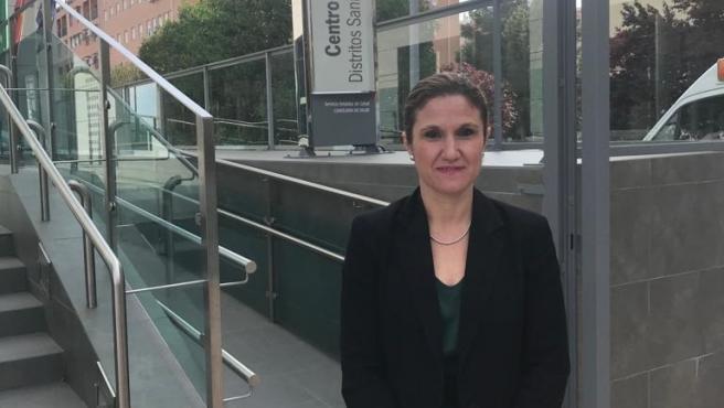 La delegada de Salud y Familias en Jaén, Trinidad Rus, en una imagen de archivo.