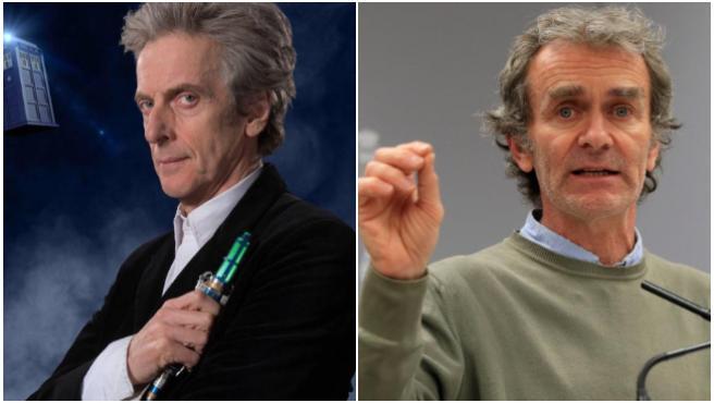Vídeo: Peter Capaldi ('Doctor Who'), el Fernando Simón perfecto para el cine