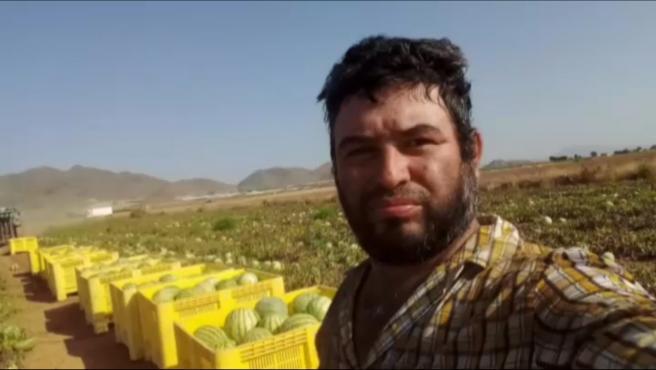 Eleazar Blandón, el jornalero fallecido