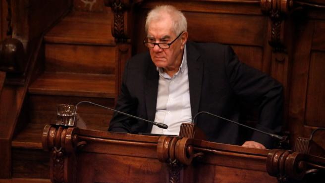 El líder d'ERC en el Ayuntamiento de Barcelona, Ernest Maragall.
