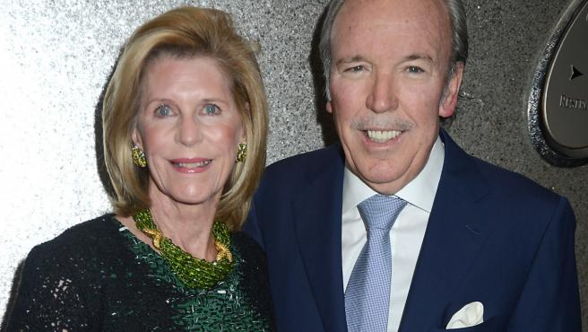 Pepe Fanjul y su esposa, en una imagen de archivo.