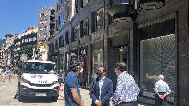 Cambio de iluminación en Oviedo