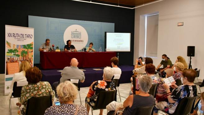 El alcade de Cádiz, José María González, en la presentación de la XIX edición de la Ruta del Tapeo
