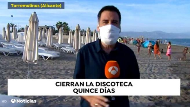 Error en uno de los rótulos de 'Antena 3 Noticias'