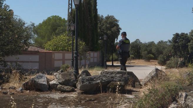 Guardia Civil trabaja en identificar el cuerpo descuartizado hallado en Chapinería