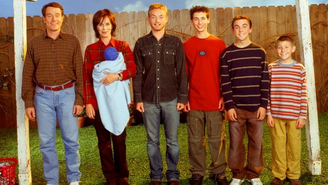 Malcolm in the middle.