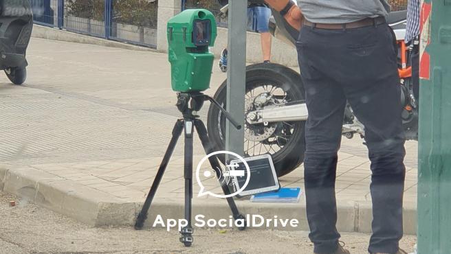 El nuevo radar de la DGT, que publicó la red Social Drive.