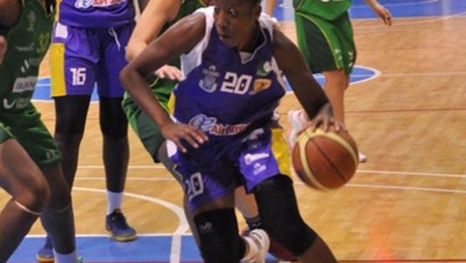 La jugadora portuguesa, en su etapa en el Clarinos.