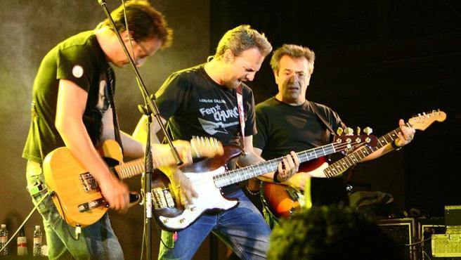 Hombres G en concierto. Foto Oliver Alexander Anderson Huerta . Wikimedia Commons