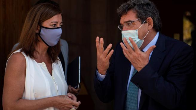 El ministro de Seguridad Social, José Luis Escrivá visita Baleares