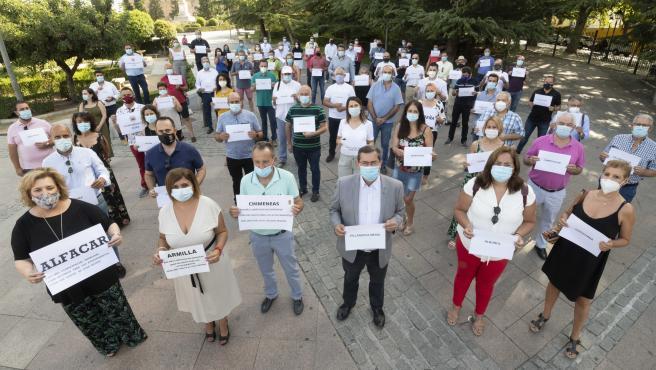 Alcaldes piden medios extraordinarios para la desinfección de centros escolares