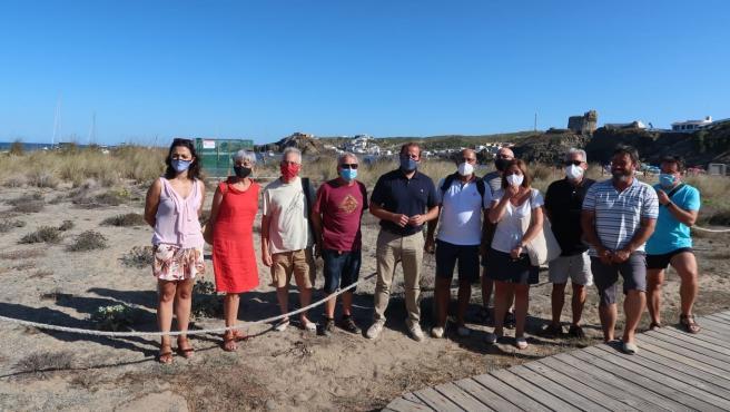 El conseller de Medio Ambiente y Territorio, Miquel Mir, en Menorca.
