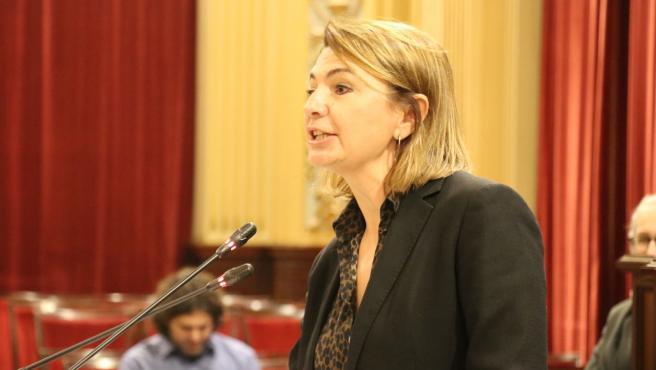 La diputada 'popular' Marga Durán en el Parlament