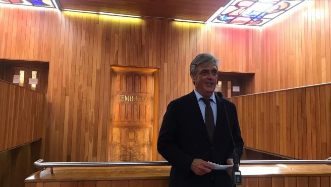 Pedro Puy, diputado del PPdeG y futuro portavoz del Grupo Parlamentario Popular en la XI Legislatura