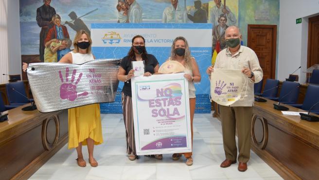 Rincón de la Victoria lanza una campaña contra la Violencia de Género con el lema 'No estás sola'