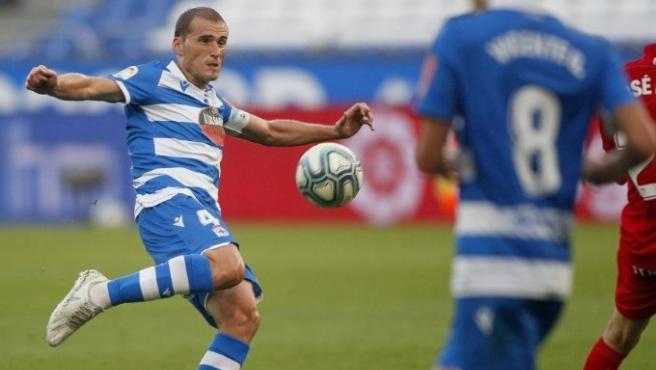 Álex Bergantiños en el Deportivo-Fuenlabrada
