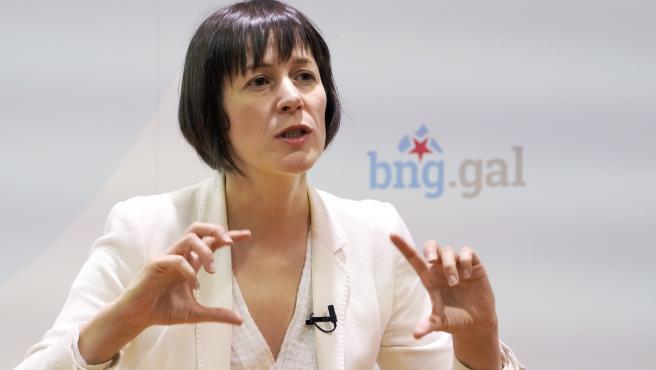Ana Pontón, candidata BNG elecciones autonómicas 12 julio