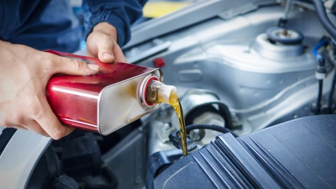 Cambio de aceite en el coche