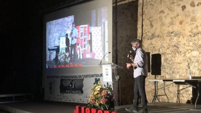 Entrega de premios del certamen de cortos El Pecado