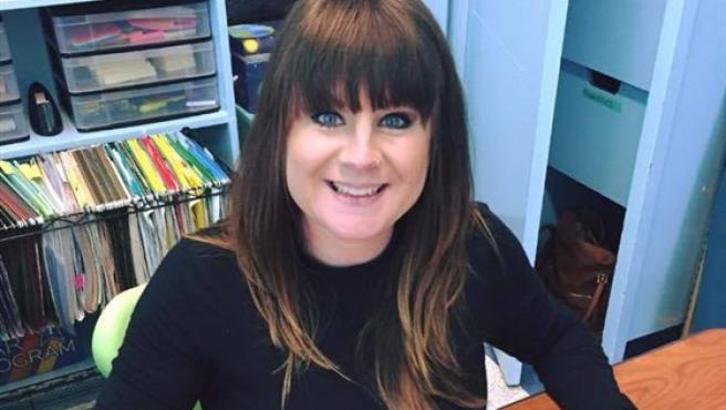 La profesora de 33 años de Florida que ha escrito su propio obituario, Whitney Reddick.