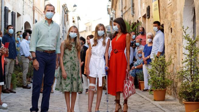 Los reyes abren este lunes su agenda oficial en Baleares junto a sus hijas