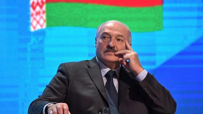Lukashenko, presidente de Bielorrusia.