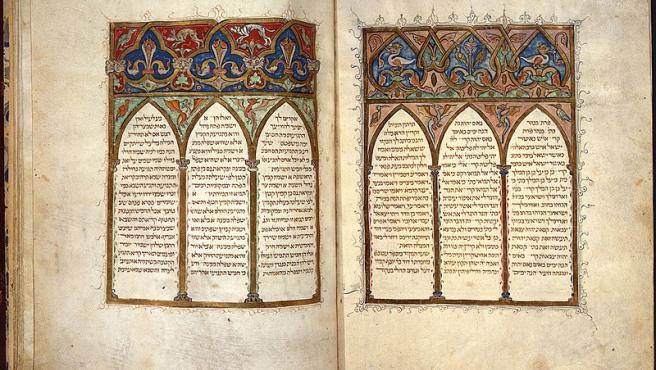 Biblia de Cervera. Wikimedia Commons