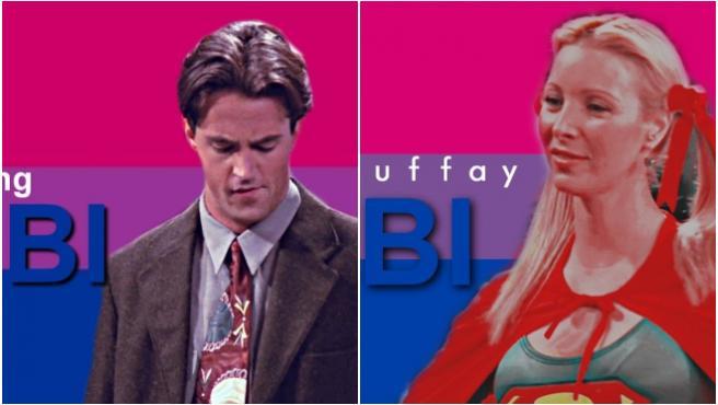Vídeos: todos los personajes de 'Friends' son bisexuales (menos Monica)