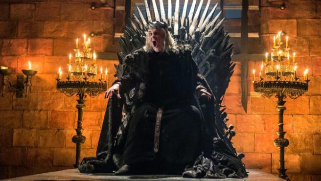 Aerys Targaryen, el Rey Loco de Juego de Tronos, una se las series analizadas en 'Imaginarios de los trastornos mentales en las series'