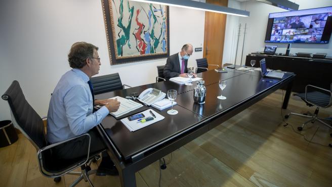 anf reunese por videoconferencia co comite clinico de expertos sanitarios