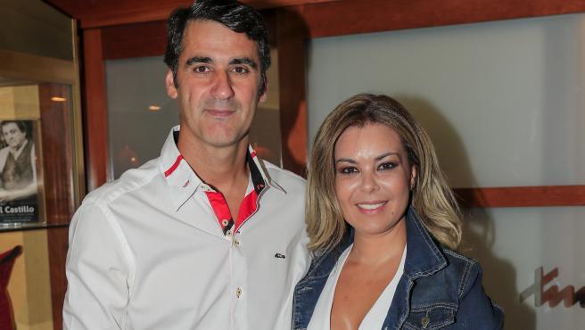 El torero Jesulín de Ubrique y María José Campanario en Cuenca