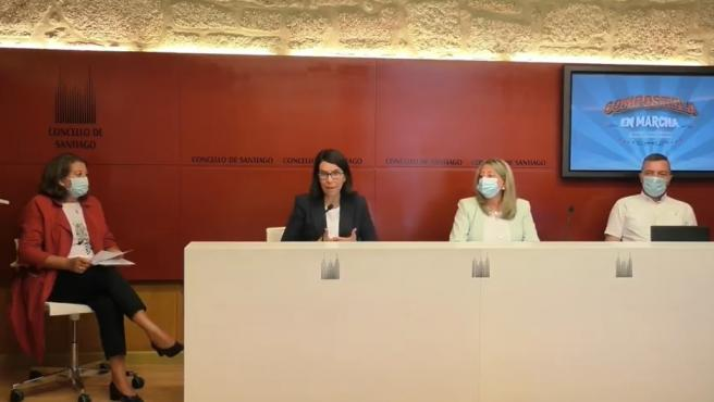 Presentación del proyecto 'Compostela en marcha'