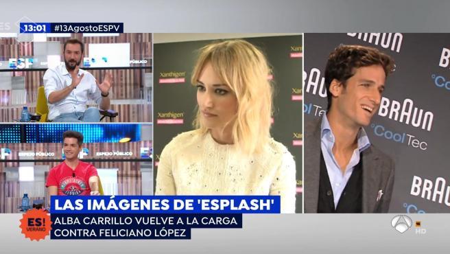 Alba Carrillo vuelve a contar algunos detalles de su relación Feliciano López.