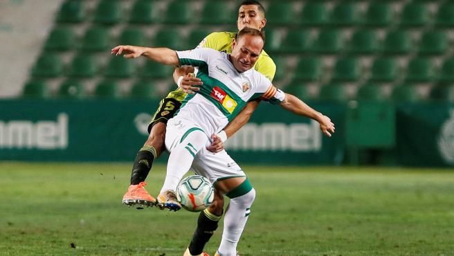 Nino, en el Elche-Zaragoza de playoff de ascenso a Primera