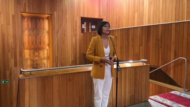 Ana Pontón, portavoz nacional del BNG y futura portavoz del Grupo Parlamentario del BNG en la XI Legislatura