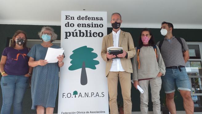 Representantes de la Federación Olívica de Anpas, FOANPAS.