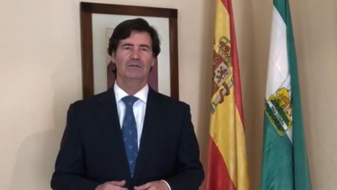 Miguel Rus, presidente de la Confederación de Empresarios de Sevilla (imagen de archivo)